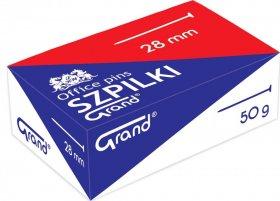 Szpilki Grand, 28mm, 50g, srebrny