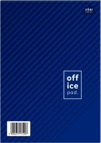 Blok biurowy w kratkę Interdruk, A5, 50 kartek, mix wzorów