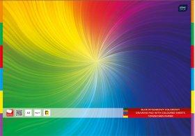 Blok rysunkowy Interdruk, A3, 20 kartek, kolorowy