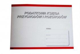 Druk akcedensowy Podatkowa księga przychodów i rozchodów Stolgraf, A5, poziomy, 18k