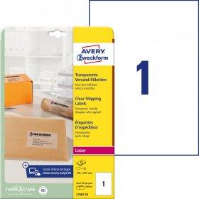 Etykiety adresowe Avery Zweckform QuickPeel, 210x297mm, 25 arkuszy