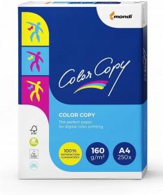 Papier satynowany Mondi Color Copy, A4, 160g/m2, 250 arkuszy, biały