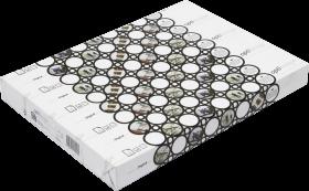 Papier satynowany Optiimage, A3, 160g/m2, 250 arkuszy, biały