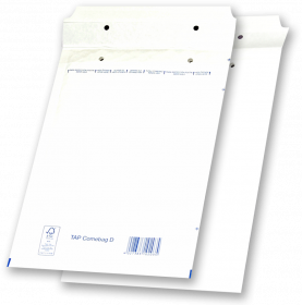 Koperta bąbelkowa NC, D/14, 200x275mm, 1 sztuka, biały