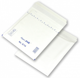 Koperta bąbelkowa NC, E/15, 240x275mm, 1 sztuka, biały