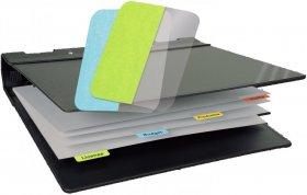 Zakładki samoprzylepne 3L, indeksujące, jednostronne, papier, 12x40 mm, 48 sztuk, mix kolorów
