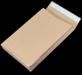 Koperta rozszerzana, NC, E4, z paskiem HK, 10 sztuk, brązowy