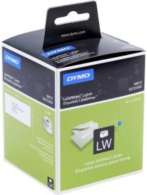 Etykiety adresowe Dymo 99012, 36x89mm, 520 etykiet, biały