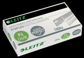 Zszywki wytrzymałe Leitz Power Performance, 24/8, 1000 sztuk, srebrny