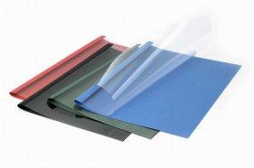 Okładki do termobindowania Argo, A4, 6mm, do 60 kartek, 100 sztuk, niebieski