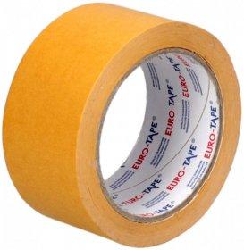 Taśma dwustronna Dalpo, Euro Tape, 50mm x 25m, biały