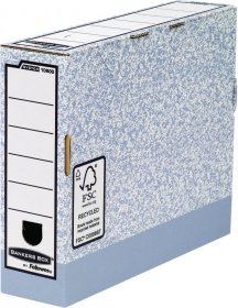 Pudło archiwizacyjne Fellowes BANKERS BOX SYSTEM, 80mm, szary