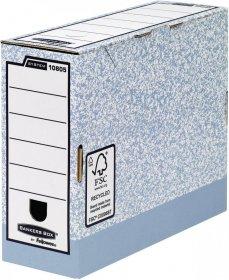 Pudło archiwizacyjne Fellowes BANKERS BOX SYSTEM, do luźnych dokumentów, 100mm, szary