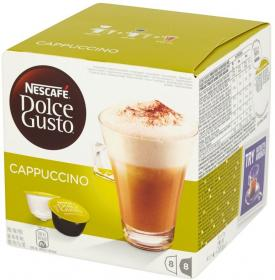 Kawa w kapsułkach Nescafé Dolce Gusto Cappuccino, 16 sztuk