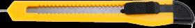 Nożyk z wymiennym ostrzem, 9mm, żółty