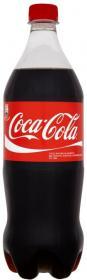 Napój gazowany Coca-Cola, butelka, 1l