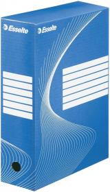 Pudło archiwizacyjne Esselte, do luźnych dokumentów, 80mm, niebieski