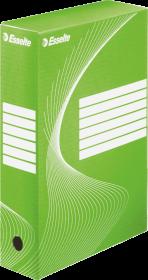 Pudło archiwizacyjne Esselte, do luźnych dokumentów, 80mm, zielony