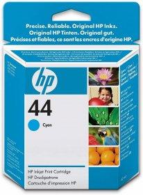 Tusz HP nr44 (51644CE), 42ml, cyan (błękitny)