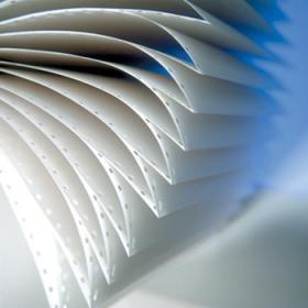 Papier do drukarki igłowej (składanka) Emerson 240x6