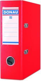 Segregator Donau Master, A4, szerokość grzbietu 75 mm, do 500 kartek, czerwony