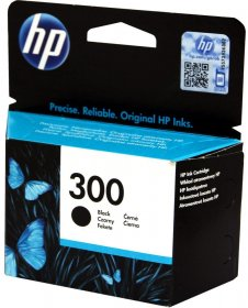 Tusz HP 300 (CC640EE), 200 stron, black (czarny)
