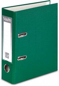 Segregator VauPe FCK, A5, szerokość grzbietu 75mm, do 500 kartek, zielony