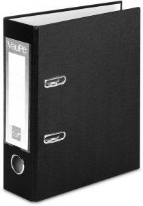 Segregator VauPe FCK, A5, szerokość grzbietu 75mm, do 500 kartek, czarny