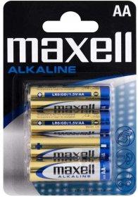 Bateria alkaliczna Maxell, AA, 4 sztuki