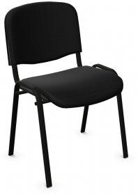 Krzesło biurowe Nowy Styl Iso Black, czarny