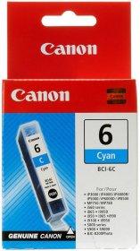 Tusz Canon 4706A002 (BCI-6C), 280 stron, cyan (błękitny)