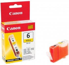 Tusz Canon 4708A002 (BCI-6Y), 280 stron, yellow (żółty)