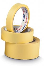 Taśma maskująca Dalpo, Euro-Tape, 25mm x 33m, żółty