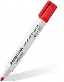Marker suchościeralny Staedtler 351, okrągła, 2 mm, czerwony