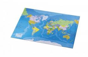 Podkład na biurko Esselte, Mapa Świata, 54x41cm