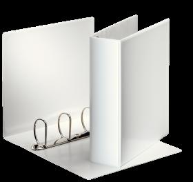 Segregator prezentacyjny Esselte Panorama, A4, szerokośc grzbietu 60mm, do 580 kartek, 4 ringi, biały