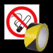 Ochrona przeciwpożarowa, znaki ostrzegawcze i taśmy