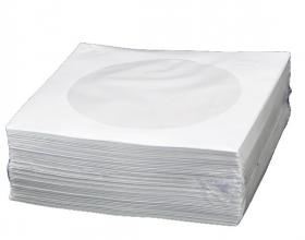 Koperta na CD Platinet okno biała 100 szt