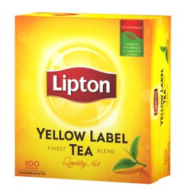 Herbata czarna Lipton Yellow Label 100 szt.