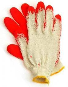 Rękawice bawełniane wampirki Barbara z gumą